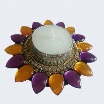 Floating Decorative Kundan Votive Lamp