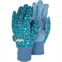Floral Design Small Cotton Gloves