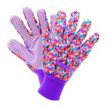 Floral Design Small Garden Gloves