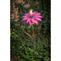 Flower Design Garden Torch 36 Inch Height