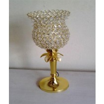 Flower Shape Crystal Decorative Lamp