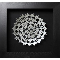Flower Shape Round Wall Panel