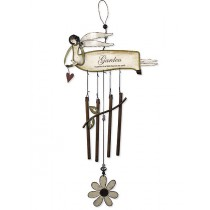 Flying Angel Garden Hanging Weathervanes