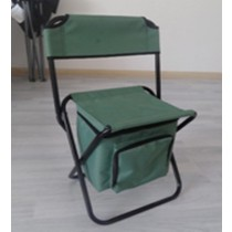 Folding Stool With Backrest