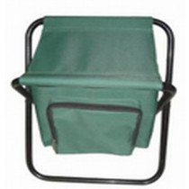 Folding Stool With Ice Bag
