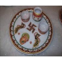Full Round Pooja Plate