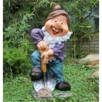 Garden Gnome Lawn Dwarf Sculpture