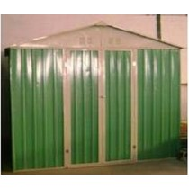 Generous Door Openings Garden Shed