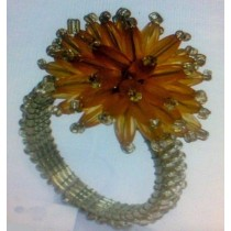 Glass Beads Napkin Ring