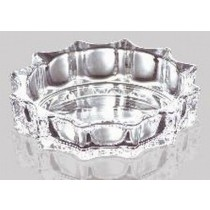 Glass Flower Shape Ashtray