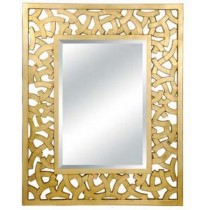 Glossy White Wall Mirror