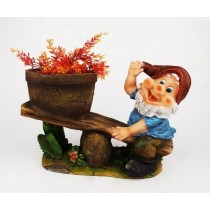 Gnome Swing Planter