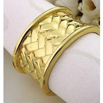 Gold Plated Napkin Ring