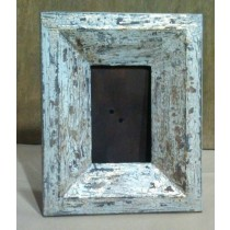 Gold Washed Shabby Chic Crab Trap Wooden Photo Frame