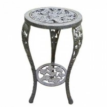 Grapes Designed Metal Table Plant Stand