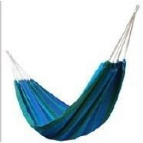 Green & Blue Without Spread-bar Hammock