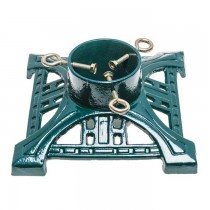 Green Cast Iron 11 Inch Christmas Tree Stand