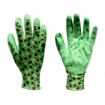 Green Color Garden Gloves