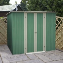 Green Color Garden Shed