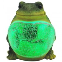 Green Color LED Frog Shape Light