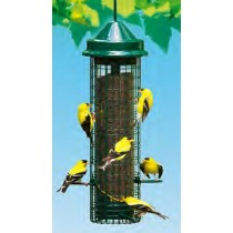 Green Color Metal Hanging Bird Feeder