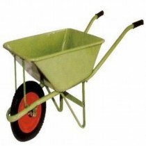 Green Color Wheel Barrow