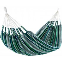 Green Cotton Acrylic Striped Hammocks