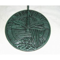 Green Dragon Fly Sundial