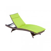 Green Durable Lounge Chair Cushion