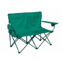 Green Folding 2 Seats Chair