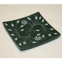 Green Incense Burner Holder