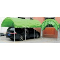 Green Parking Tent(Size 205×405 Cm)