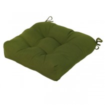 Green Polyester 20 Inch Chair Cushion