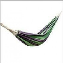Green With Combine Violate Polyester Hammock