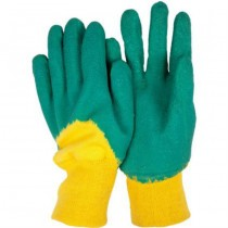 Green & Yellow Kids Gloves