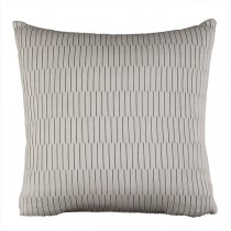Grey 16 Inch Solid Square Cushion