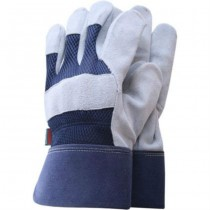 Grey & Navy Garden Gloves