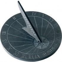 Grey Slate Flat Stone Sundial