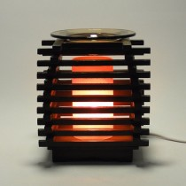 Grilled Wooden Aroma Lamp