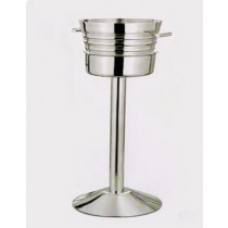 Hammered Champagne Bucket Holder, 30 Inches