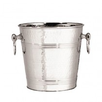 Hammered Finish Stainless Steel Wine Bucket