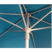 Hand-pulled Aluminum Mid-pole Umbrella