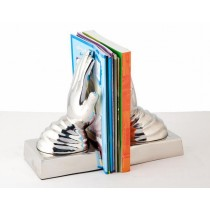 Hand Aluminum Bookend