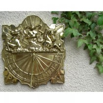 Hand Cast Wall Mounted Anaximander Sundial