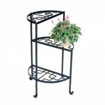 Hand Crafted Metal 3-Tier Plant Stand