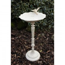 Hand Made Cast Iron Bird Bath