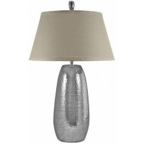 Hand Made Hammered Teardrop Table Lamp