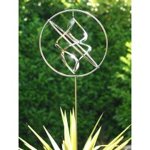 Handcrafted Gyroscope Stainless Steel Weathervanes