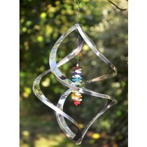 Handcrafted Hanging Crystal Weathervanes