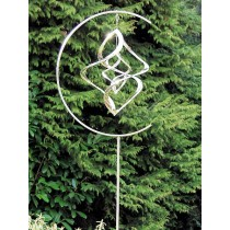 Handcrafted Stainless Steel Garden Weathervanes With Stake